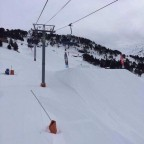 View of El Tarter Snowpark from Tosa Espiolets 10/02