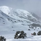 Off-piste in El Tarter