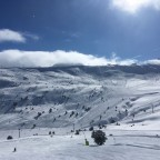 Stunning views looking across to the Solanelles and Pla de les Pedres chairlifts!