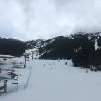 Portella chairlift and beginners area