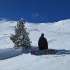 Enjoying the peace of off piste