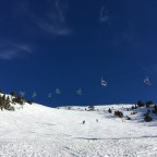 Gaig Black Run, Portella chairlift - Canillo.