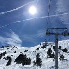 Bluebird days in Grandvalira Soldeu