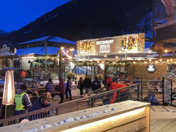 The new apres ski bar The Boss