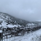 Snow in Soldeu village