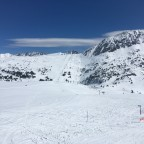 Looking across to Llac de Cubil chairlift