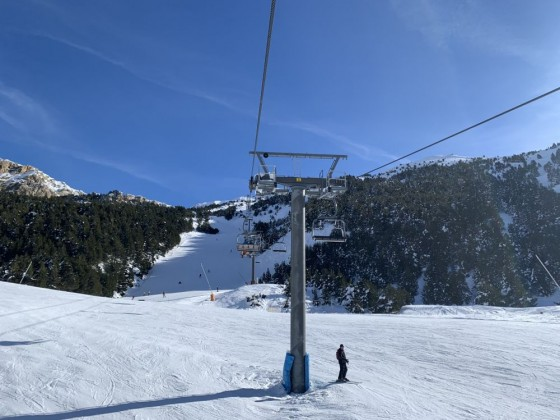 TSD4 Portella chairlift