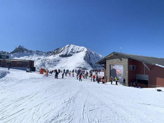 Top of TSD Pla des Pedres chairlift