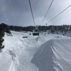 The big kickers of El Tarter Snow Park