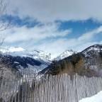Soldeu mountain range