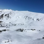 El Tarter bowl, taken from Llosada chairlift.