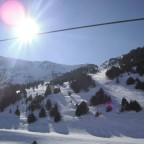 Great sun and great snow 19/02