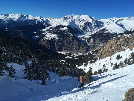 Steep and challenging off-piste runs in Canillo