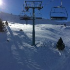 Sunny day making our way to Grau Roig from Soldeu via the TSF4 Solanelles lift