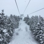 Powder day - Soldeu chairlift
