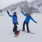 Our team members didn't want to miss the Opening Day in Grandvalira
