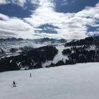 View from Astoret blue run