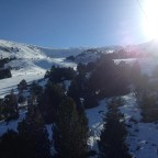 View from Llosada Chairlift