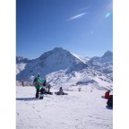 Top of Soldeu looking across to Grau Roig - 12/2/2011