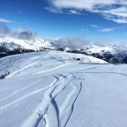 Fresh tracks in El Tarter