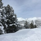 Esquirol blue run after heavy snowfall