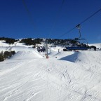 View of El Tarter Snowpark from Tosa Espiolets 03/02