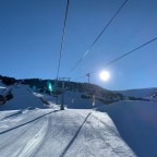 El Tarter snow park from Tosa Espiolets chairlift