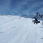 Overlooking the slopes in Soldeu