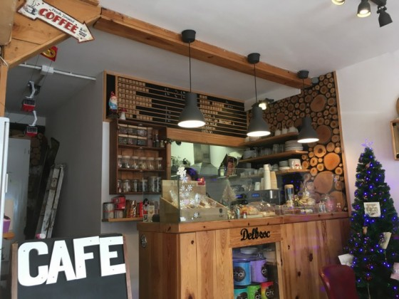 Cafe del Bosc offers yummy homemade pastries and a wide variety of coffe and tea