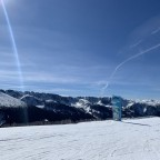 The top of Rossinyol blue run