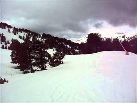 Skiing from Soldeu to El Tarter, 31/03/2011
