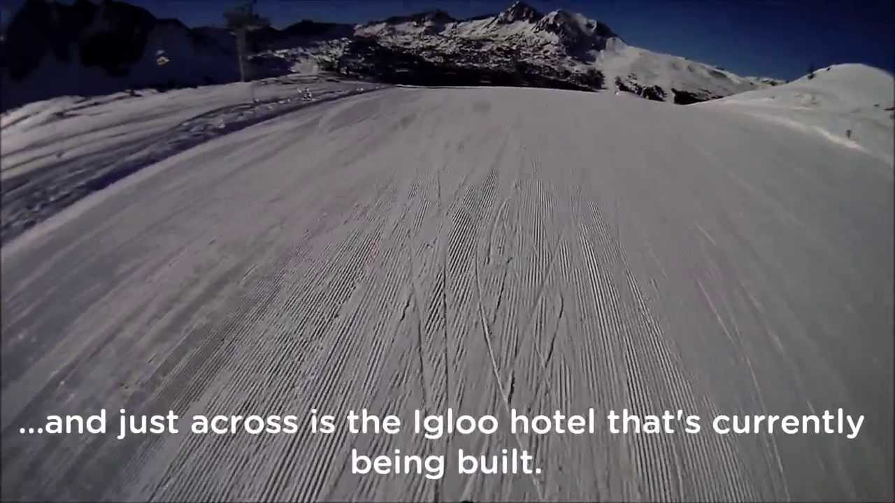 Skiing Grandvalira, 12/12/2013