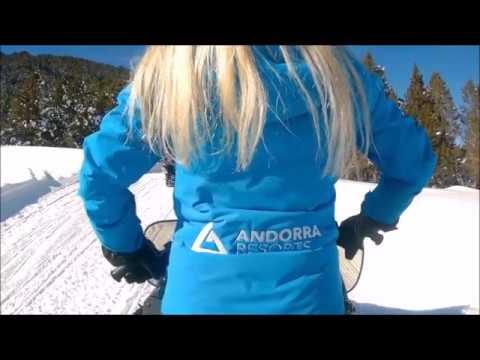 Snowmobiles in Grandvalira Grau Roig