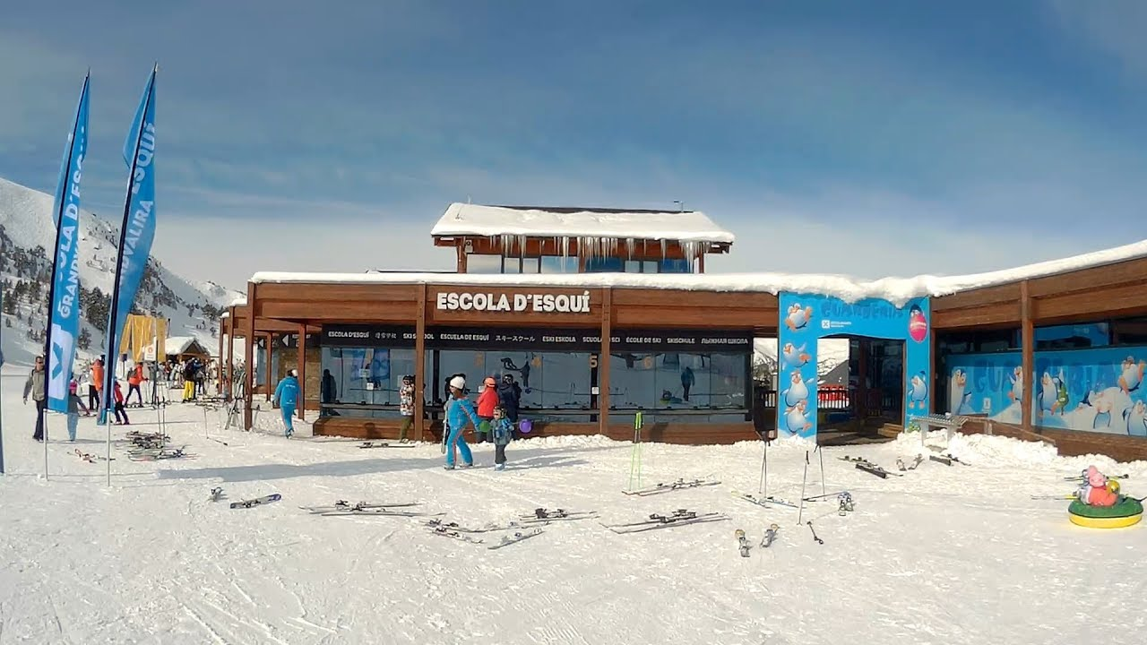 How to check in for Ski School: SOLDEU